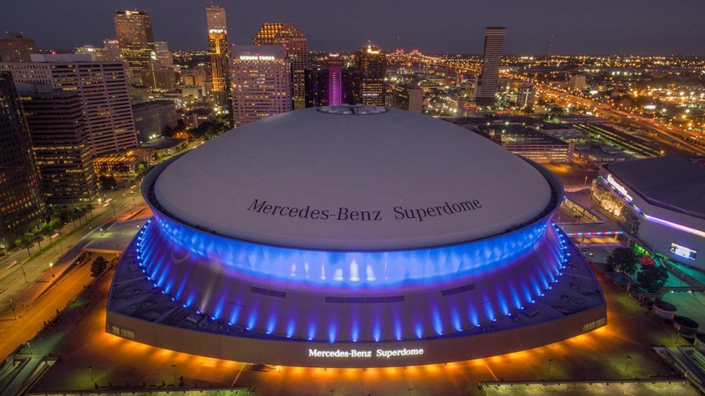 Sugar Bowl at Mercedes Benz Superdome