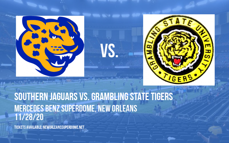 Bayou Classic: Southern Jaguars vs. Grambling State Tigers [POSTPONED] at Mercedes Benz Superdome