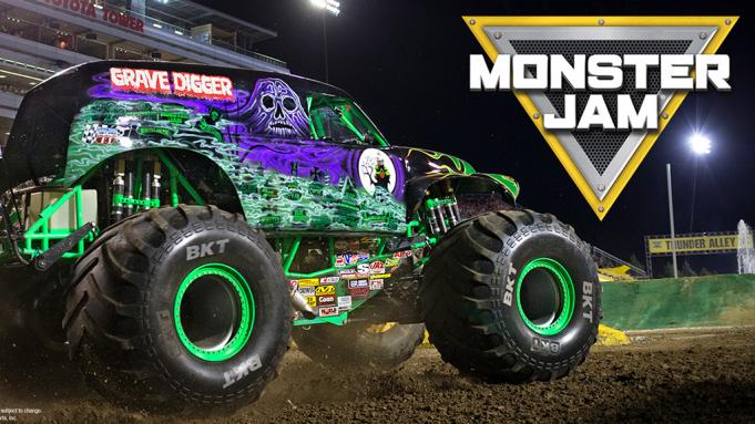 Monster Jam at Mercedes Benz Superdome
