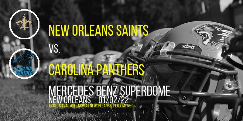 New Orleans Saints vs. Carolina Panthers at Mercedes Benz Superdome