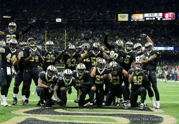 New Orleans Saints vs. Atlanta Falcons at Mercedes Benz Superdome