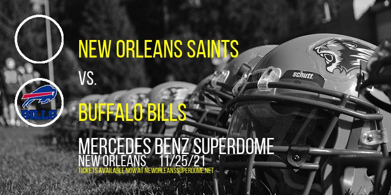 New Orleans Saints vs. Buffalo Bills at Mercedes Benz Superdome